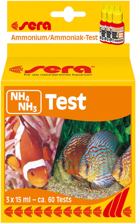 sera Ammonium/Ammoniak-Test 3 x 15 ml