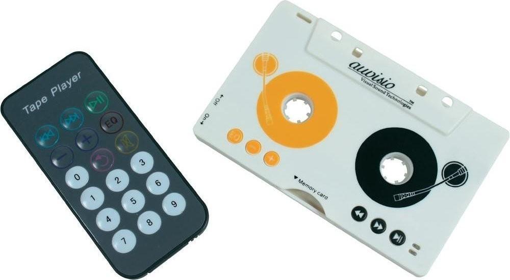 Auvisio MP3-Player für Kassettenautoradio, Kass...