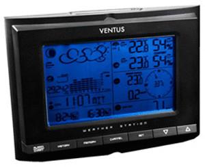 Ventus W 831 Wetterstation mit Windmesser, Rege...