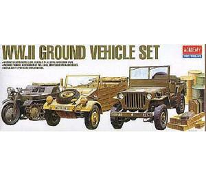Academy WWII Ground Vehicles Set (1310)