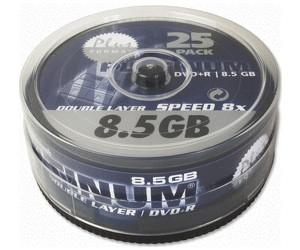 Image of Bestmedia DVD+R DL 8,5GB 8x 25pk Spindle