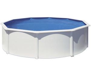 Gre piscina de acero blanco 460 x 132 cm kitpr458 desde for Piscinas online ofertas