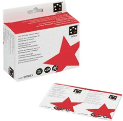 Image of 5 Star Office Screen Cleaning Duo Sachets (Pack 20 x 2)