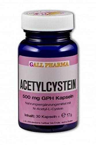 Hecht Pharma Acetylcystein 500 mg Gph Kapseln (360 Stk.)