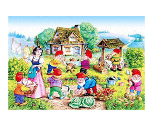 Castorland Snow White and the Seven Dwarfs (120 Teile)