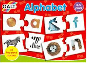 Image of Galt Alphabet Puzzle