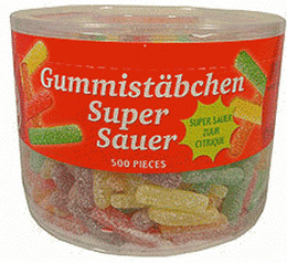 Red Band Gummi Stäbchen super sauer (950 g)