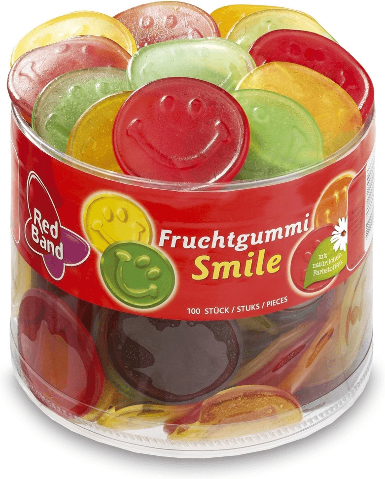 Red Band Fruchtgummi Smile (1150 g)