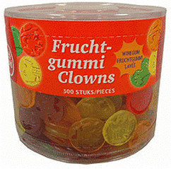 Red Band Fruchtgummi Clowns (1300 g)