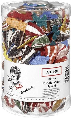 Küfa Rundlutscher Frucht (100 Lutscher)