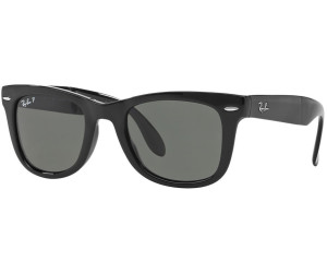 ee26cb66555 Buy Ray-Ban Wayfarer Folding RB4105 601 58 Polarized (black natural ...