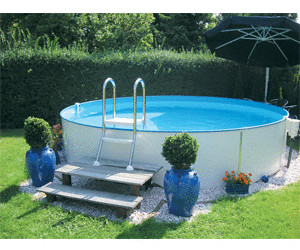 Mypool premium rundbecken 400 x 120 cm ab for Pool aufstellbar