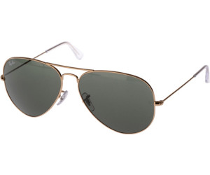 Ray-Ban Aviator Large Metal RB3025 001/51 55arista/brown shaded (Zustand: Neuwertig) a5oN9