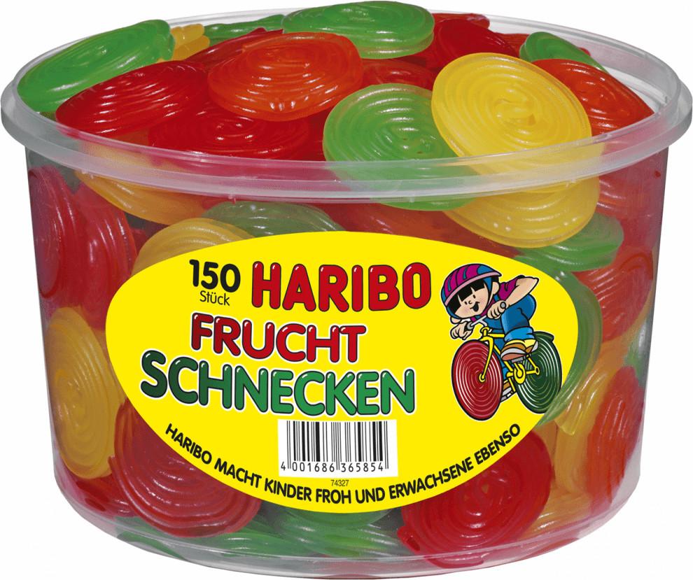 Haribo Gefüllte Frucht-Schnecken (1200 g)