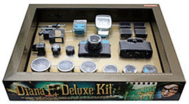 Lomo Diana F+ Deluxe Kit