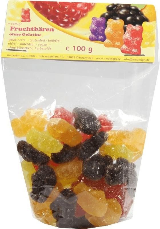 Medesign Gummibaeren ohne Gelatine (100 g)