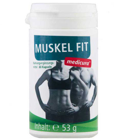 Medicura Muskel Fit 500 mg Kapseln (60 Stk.)