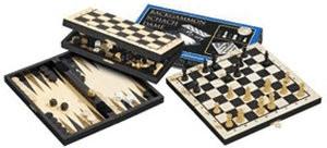 Philos-Spiele Backgammon/Schach (2511)