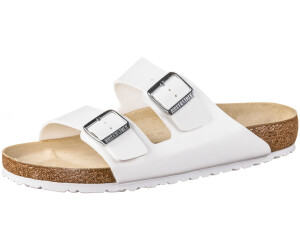 9ef8b0ba187 Buy Birkenstock Arizona Birko-Flor white from £34.99 – Best Deals on ...