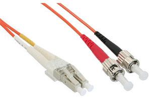 #InLine LWL Kabel Duplex LC/ST 50/125 OM2 5m#