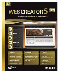 Mindscape Web Creator 5 Pro (FR) (Win)