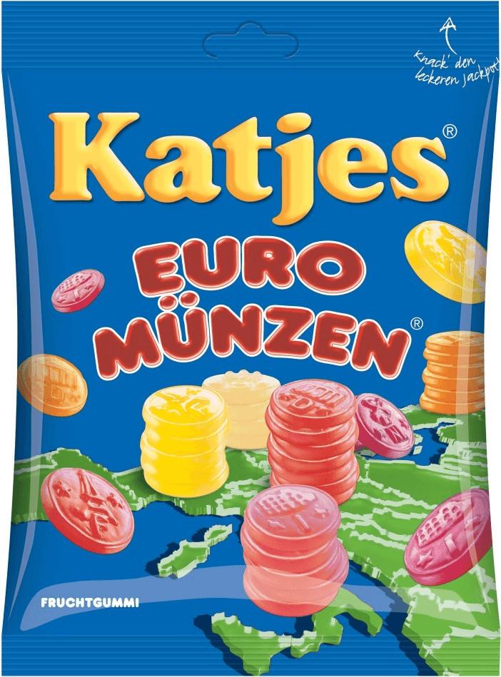 Katjes Euro Münzen (200 g)
