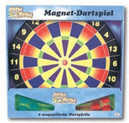 The Toy Company Splash & Fun Magnet-Dartboard