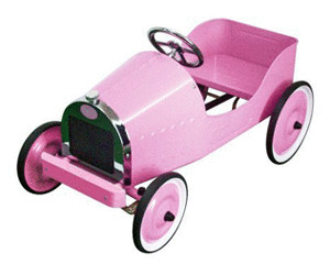 Image of Baghera Pedal Car Classic pink