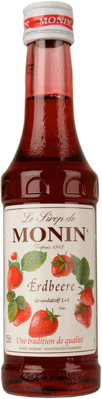 Monin Sirup Erdbeere 0,25l