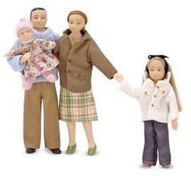 Melissa & Doug Puppenfamilie (12587)