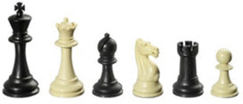 Philos-Spiele Schachfiguren Nerva KH 95 mm