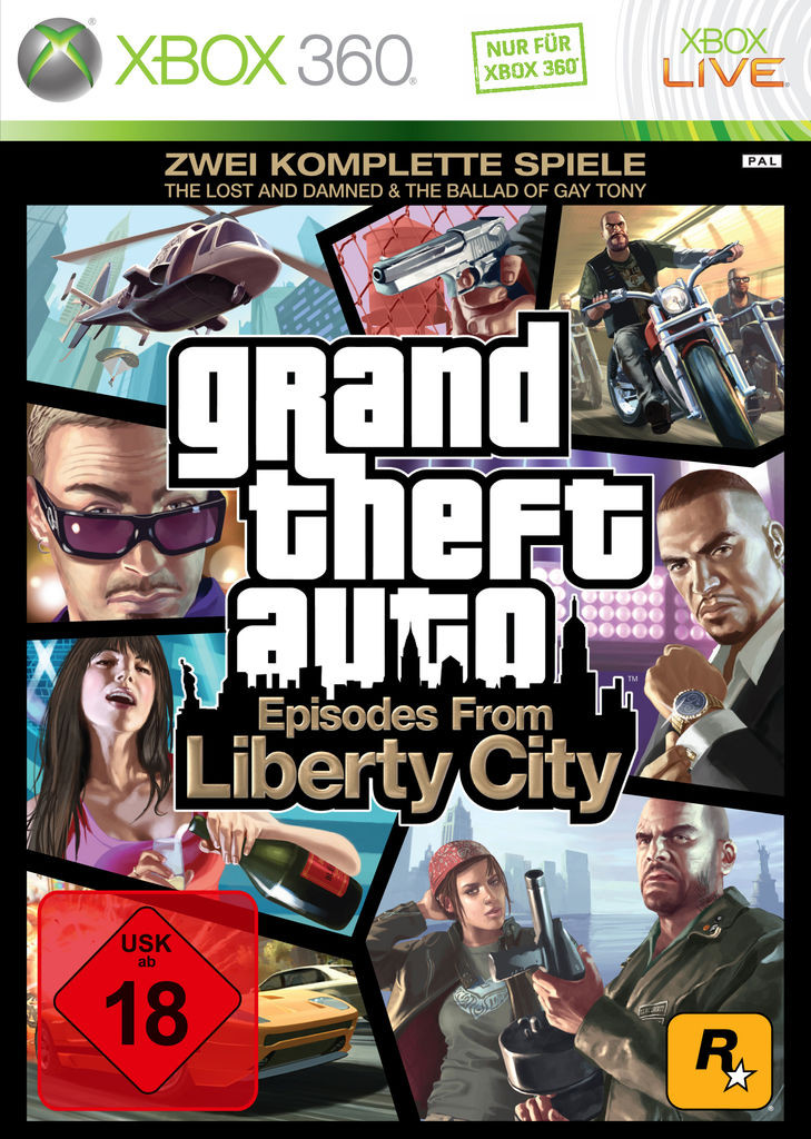 Grand Theft Auto: Episodes from Liberty City (X...