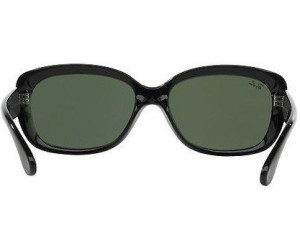 6ea75454154 Buy Ray-Ban Jackie Ohh RB4101 601 (black green) from £78.15 ...
