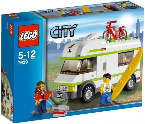 LEGO City - Le camping-car (7639)