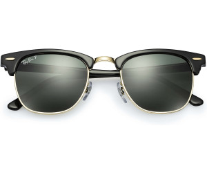 410d381a337 Buy Ray-Ban Clubmaster RB3016 901 58 (black green) from £135.00 ...