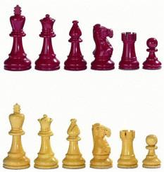 Philos-Spiele Schachfiguren Nero KH 95 mm