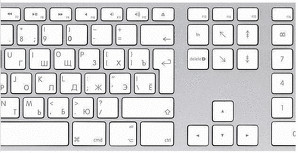 Apple Tastatur mit Ziffernblock RU