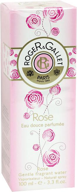 Roger & Gallet Rose Eau douce parfumée (100ml)