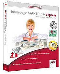 bhv Homepage Maker 6+ Express (DE) (Win)
