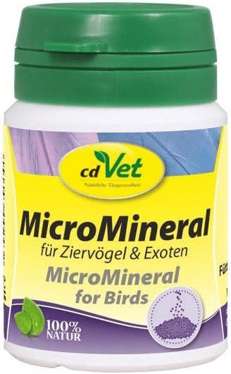 cdVet MicroMineral Vogel Pulver 25g