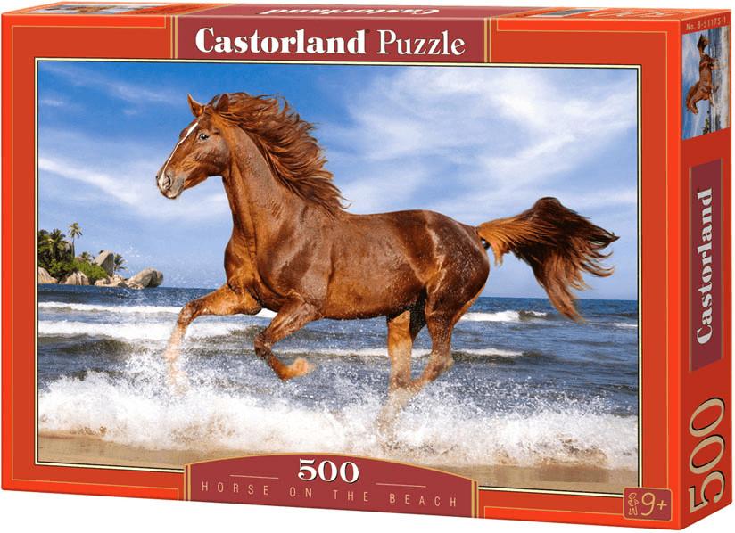 Castorland Pferd am Strand