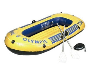 friedola schlauchboot olympic set 230 ab 59 01. Black Bedroom Furniture Sets. Home Design Ideas