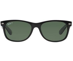 905124da9d5 Ray-Ban New Wayfarer RB2132 901 58 (black polarized crystal green ...