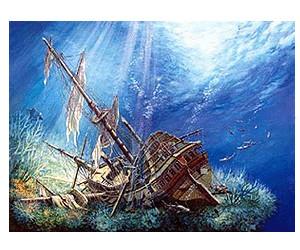 Castorland Sunk Galleon
