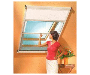 schellenberg insektenschutz und verdunkelungs rollo f r dachfenster beige 120 x 160 cm ab 187. Black Bedroom Furniture Sets. Home Design Ideas