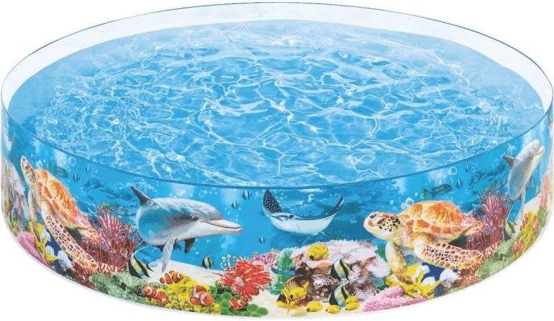 INTEX 58472–Piscina Rígida Korallenriff, 244x 46cm