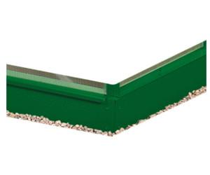 Stahlfundament für Gewächshaus Vitavia Comet 3800
