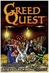 Steve Jackson Games Greed Quest