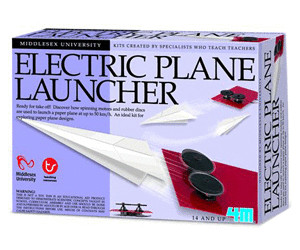 4M Middlesex University Science - Electric Plane Launcher