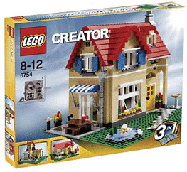 LEGO Creator Einfamilienhaus (6754)